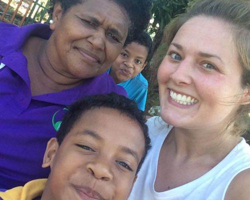 Lucy in Fiji