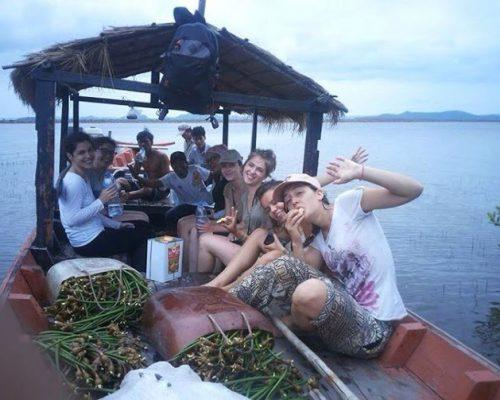 the conservation volunteer crew in cambodia