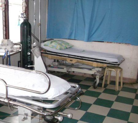 hospital ward in Ghana