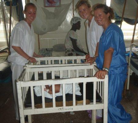 ward at Ghana hospital