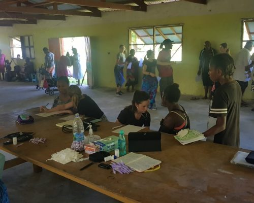 nutritional health checks IVI volunteering vanuatu
