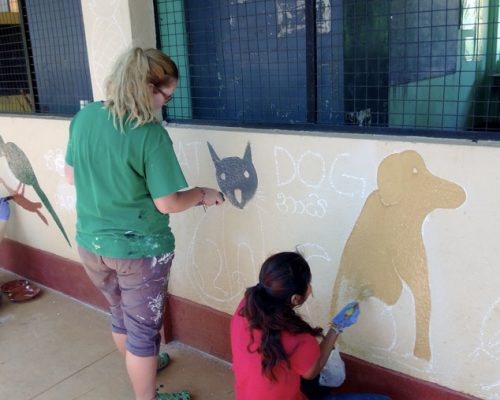 painting murals