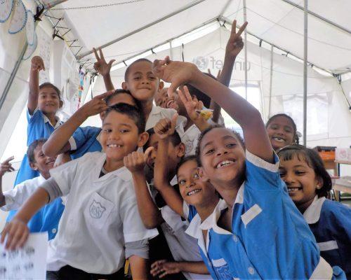 Primary school kids fiji