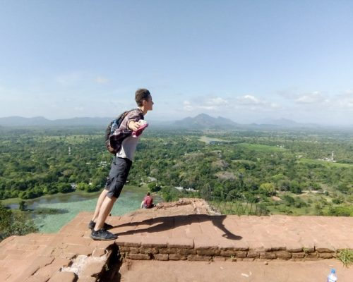 standing on top of viewpoint