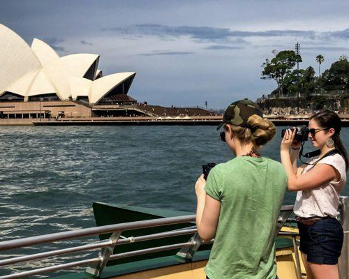 _sydney opera house view