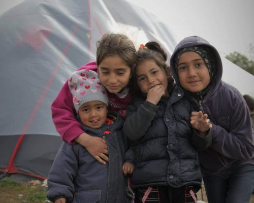 Syrian Refugee Camps in Greece