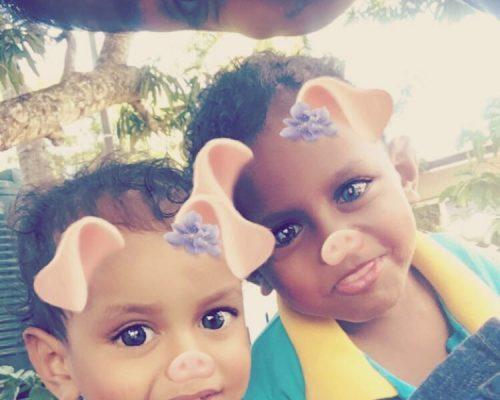 childrens home fiji funny photo