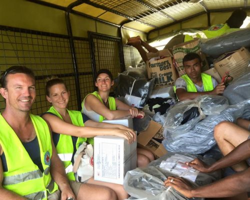 cyclone rebuilding fiji volunteering