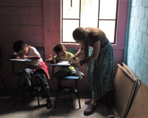 helping children with work