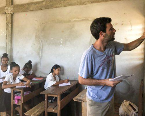 teaching in Nosy Be
