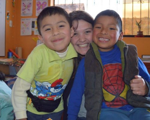 childcare and teaching project cusco peru