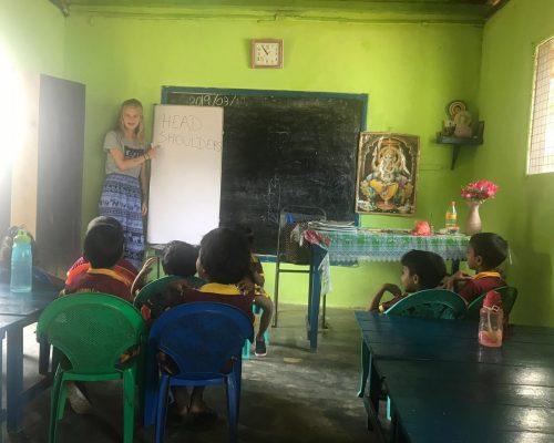 teaching pre school children