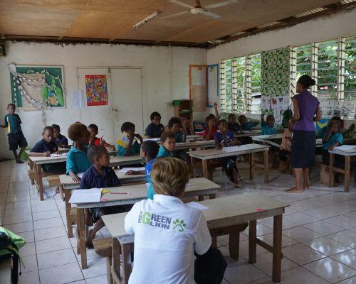 teaching project in vanuatu