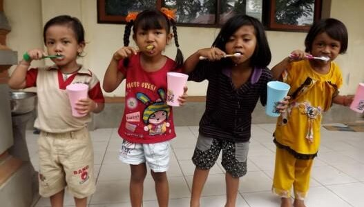 Bali school healthcare outreach