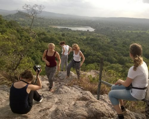 top of hill- Sri Lanka experience