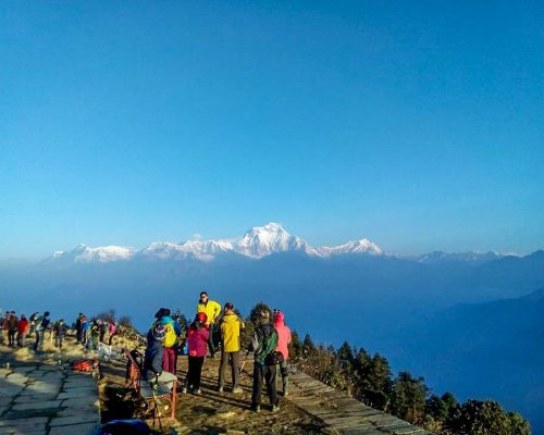stunning views of mountain