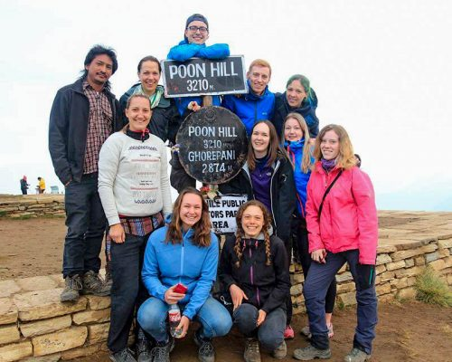 group at poon hill