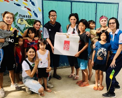 volunteering in thailand primary school teaching