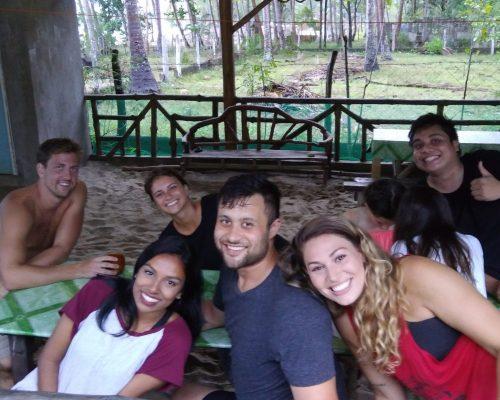 volunteers with IVI