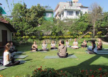 nepal yoga is nice