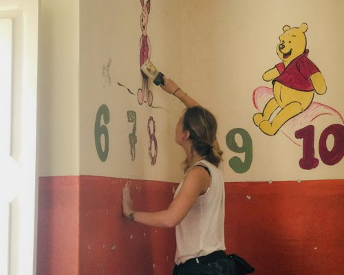 painting the walls cape verde