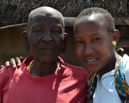 smiling locals in Tanzania