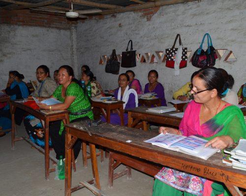 mature age teacher in nepal