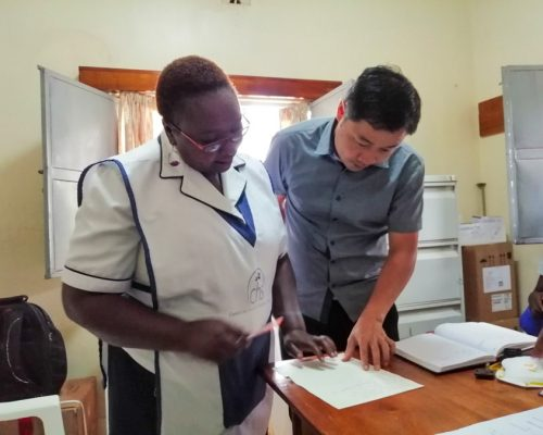 working on project in Kenya-2